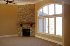 Moughan Builders, Inc. | Springfield, Illinois Homebuilder | home builder | new homes | new construction | homebuilders on Pinterest | fireplace