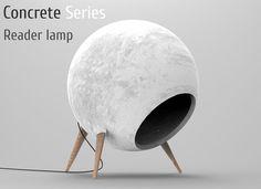 Resultado de imagen para concrete lamp
