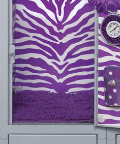 interesting accessories for your little ones' lockers! LockerLookz on Purple Love, Shades Of Purple, Red And Blue, Locker Organization, School Lockers, How To Get Rich, Trending Now, Tween, Primary Colors
