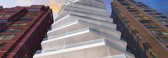 Design firm Arquitectónica transformed an 18-story tower in Quito, Ecuador into a slender urban sculpture.