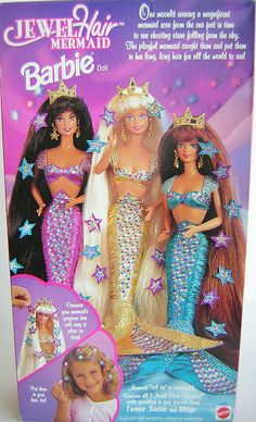 1995 Barbie Doll. I have the purple one.