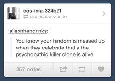 Clone Club // Orphan Black // Helena // LOVE IT!!!