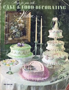 Wilton Cake And Food Decorating 1970-1971 Issue - $19.99 : Vintage Paper Collectibles Ephemera Postcards Books Magazines