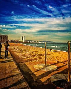 Back soon #bcn #barcelona #barceloneta #sea #beach #sky #clouds #skyporn #cloudsporn #light #igersbcn #igerscatalunya #descobreixcatalunya by dpereirapaz