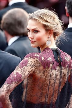 Karlie Kloss se vé espectacular en el festival de Cannes del 2014. -  Karlie Kloss at Cannes, 2014.