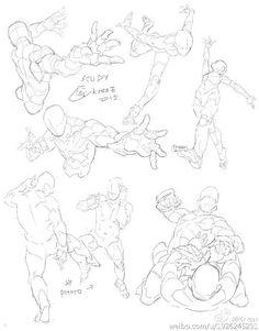 "Anatomy Drawing Reference KrenzCushart on - ""<getsure study>人體習作"" Anatomy Drawing, Manga Drawing, Drawing Sketches, Eye Drawings, Drawing Art, Drawing Tips, Anatomy Art, Body Reference Drawing, Drawing Reference Poses"