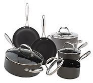 This is my favorite cookware! So much better than the very, very expensive brands. I even give it as gifts! Technique Hard Anodized Dishwasher Safe 10-pc. Cookware Set - K19772