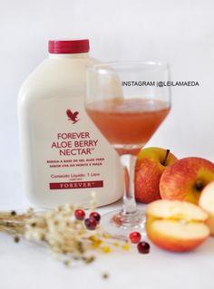 É o suco de Aloe Vera feito do puro gel de Aloe, acrescido com toque suave e adocicado de uvas do monte (cranberry) e maçã.