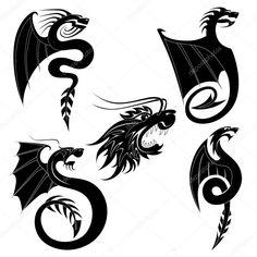 depositphotos_8753155-stock-illustration-black-dragon-tattoo.jpg (1024×1024)