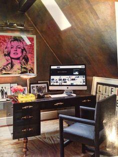 Michael Smith, AD, Natalie Massenet office. Divine paper