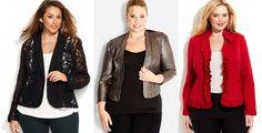 Shapely Chic Sheri - Plus Size Alternatives to Holiday Dresses #plussizeblazers