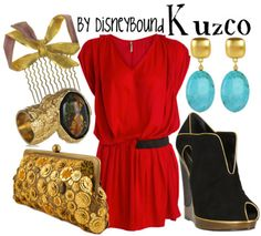 ohh...my...goodness. I love Kuzco and this outfit!