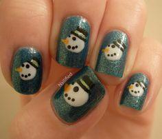 300 christmas nail designs ideas in 2020  christmas nail