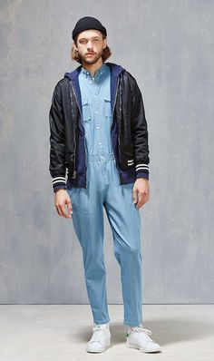 Bib Overalls, Dungarees, Button Down Collar, Parachute Pants, Urban Outfitters, Rain Jacket, Windbreaker, One Piece, Hoodies