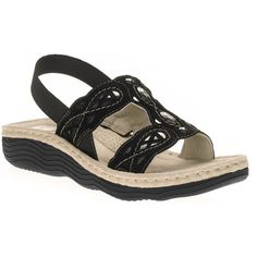 Earth Spirit Women's Cheyenne Sling Back Sandals | Walmart comes out with a variation of these every year, and they are THE most comfortable sandals I've ever owned. They also come in brown, white, and tan. $20.87