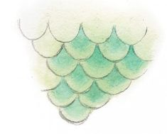 Learn how to draw and paint mermaid scales with these free demonstrations from Dreamscapes by Stephanie Pui-Mun Law! Mermaid Tail Drawing, Mermaid Drawings, Art Drawings, Mermaid Drawing Tutorial, Mermaid Paintings, Fantasy Drawings, Mermaid Scales, Mermaid Art, Mermaid Tails