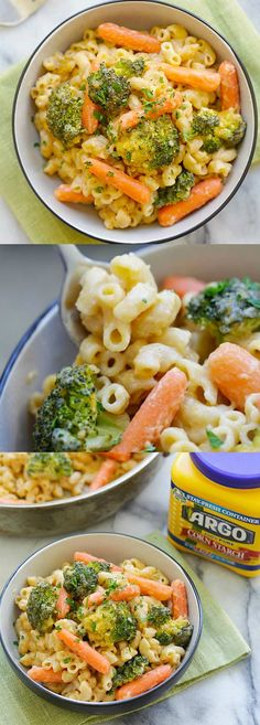 Mac and Cheese with Broccoli and Carrots – skillet Mac and Cheese loaded with healthy broccoli and carrots. Even the pickiest eaters like it | rasamalaysia.com #spon