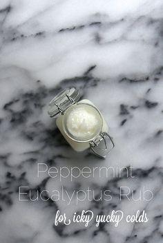 peppermint eucalyptus Rub | Joy the Baker