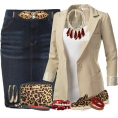 """""""Pops of Red..."""" by mares-80 on Polyvore"""
