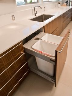 Kitchen Garbage Design, Pictures, Remodel, Decor and Ideas - page 2