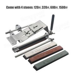 Honana Profession Kitchen Sharpening Tool Scissor Knife Blade Sharpener Tools With 4 Stones at Banggood