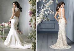 Lace Back Wedding Dresses - Part 2