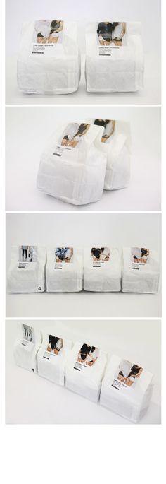 하루도 잊을수없어요!! 당신의 스타일난다!! ^^ Interesting #underwear #packaging. If you want to customize a good-looking t-shirt packaging, visit www.unifiedmanufacturing.com.