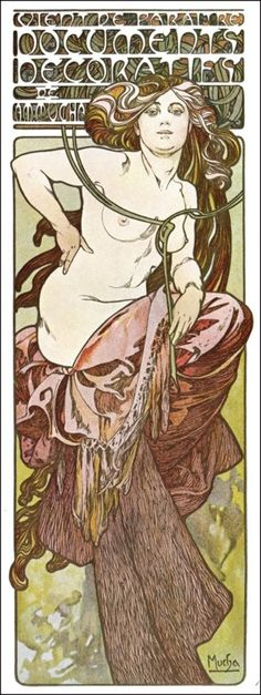 Artist: Alfons Maria Mucha (1860-1939) Others: (1901)
