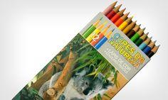 Lápis Cores da Natureza