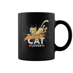 Forever A Cat Lover  Mugs