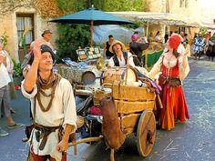 Fête médiévale du Petit Epeautre à Monieux.