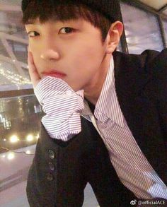   17.04.12   @official_a.c.e7 insta Donghun, main vocal of A.C.E