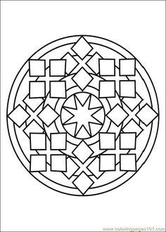 free printable coloring image Mandalas 010