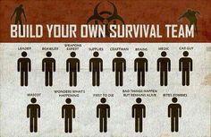 Recruiting for the Zombie Apocalypse. Hahahaha!