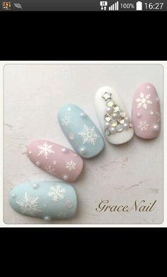 Nail art ~winter