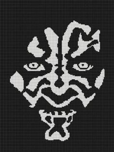 CROCHET PATTERNS STAR WARS DARTH MAUL AFGHAN GRAPH CHART E-MAILED.PDF ...