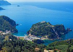 View of Paleokastritsa, Corfu