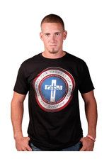 NOTW, Captain Mens Short Sleeve T-shirt - Celebrate your faith with NOTW, a clothing company dedicated to fitting in with the current trends while standing out with powerful messages of Christianity. Each piece in this edgy collection boldly proclaims the truth of the Gospel while offering fantastic fit, contemporary designs, and high-quality materials. Dare to be different with NOTW – because we are Not Of This World!