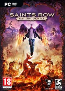 ABOUT THE GAME  After the space faring antics of Saints Row IV many fans asked what we could do next the answer? Shoot The Devil in the face. Play as either Johnny Gat or Kinzie Kensington as you tear apart Hell in a quest to save the leader of the Saints soul.  Title: Saints Row: Gat out of Hell Genre: Action Developer: Deep Silver Volition High Voltage Software Publisher: Deep Silver Release Date: 22 Jan 2015 Languages: EN/FR/DE/IT/ES/PL/RU/JP  This release includes:  Saints Row: Gat out…