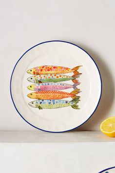 Sardina Side Plate - anthropologie.com