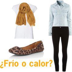 """""""Frío o calor"""" by moradaguapa on Polyvore"""