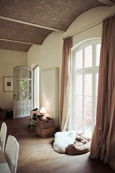 window and ceiling