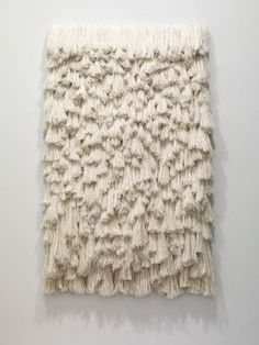Sheila Hicks FIBER OPTICS by Brook S. The Paris-based fiber sculptor Sheila Hicks shows her stuff at Sikkema Jenkins & Co. Textile Fiber Art, Textile Artists, Fibre Art, Textile Sculpture, Sheila Hicks, Prayer Wall, Prayer Rug, Weaving Textiles, Weaving Art