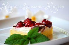 Patce's Patisserie: Kirschschmandkuchen oder Apfel-Puddingkuchen... aber beide mit Schokoladenguss! #kirschen #kirschkuchen #ichbacksmir