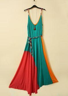 summer dress. a little shorter