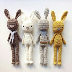 Crochet bunnies                                                                                                                                                                                 More