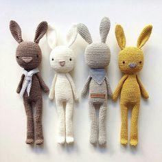 Crochet bunnies Más