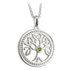 Sterling Silver Irish Celtic Tree of Life Pendant Trinity Knot Leaf Detail by Solvar ** Click image for more details.Note:It is affiliate link to Amazon.