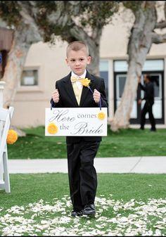 Fun Wedding Signs.