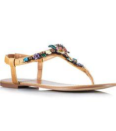 Si os gustan las flores, estas son vuestras sandalias! @3 SUISSES